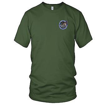 NASA - SP-242 NASA lanzadera de espacio STS-129 Atlantis espacio misión bordadas del remiendo - señoras T Shirt