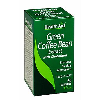Health Aid Green Coffee Bean Extract 60's Vegicaps
