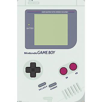 Nintendo - Game-Boy-Poster-Plakat-Druck