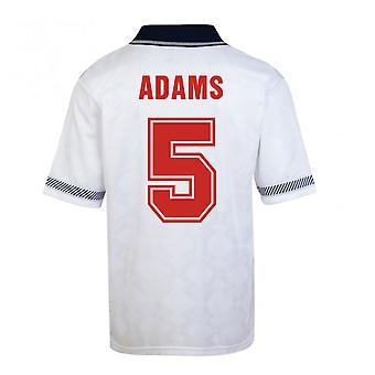 Score Draw England World Cup 1990 Home Shirt (Adams 5)