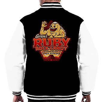 Gorons Ruby Rock Candy Legend Of Zelda mężczyzn uniwerek kurtka