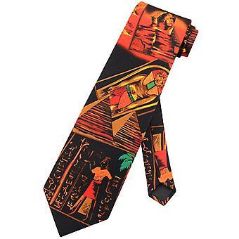 Egyptian Pharoah Luxor NeckTie Ancient Egypt Themed Mens Neck Tie