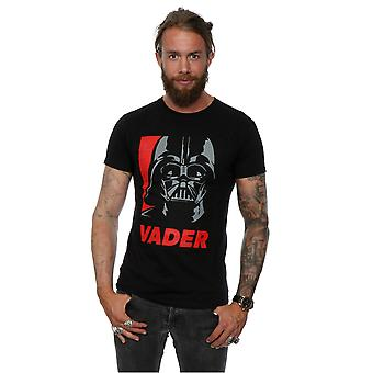 Star Wars Men's Vader Poster T-Shirt
