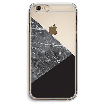 iPhone 6 Plus / 6S Plus Transparent Case (Soft) - Marble combination