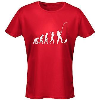 Pesca Evo Evolution para mujer camiseta 8 colores (8-20) por swagwear