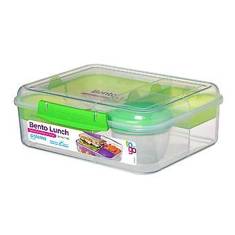 Sistema Bento frokost til at gå, limegrøn
