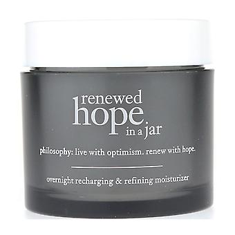 Philosophy Renewed Hope in A Jar Overnight Recharging & Refining Moisturizer New