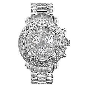 Joe Rodeo diamond men's watch - JUNIOR silver 20.5 ctw