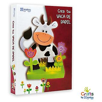 Crafts by Andreu Toys Create Your Cow Paper