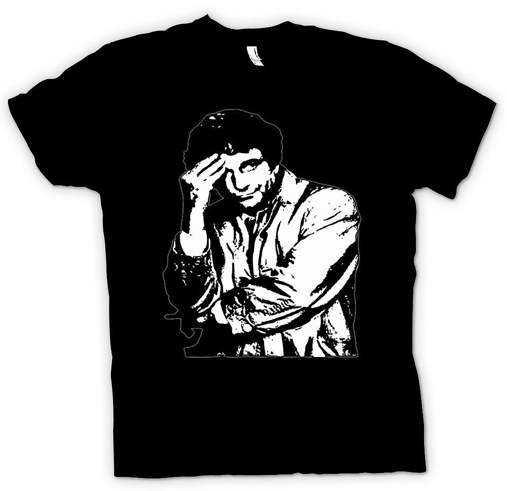 Womens T-shirt - Columbo - BW - Classic Detective