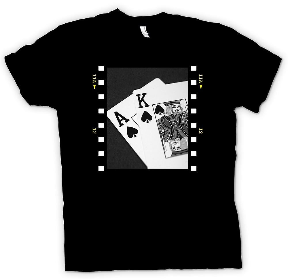 Barn T-shirt-Poker Hand Black Jack ess kung