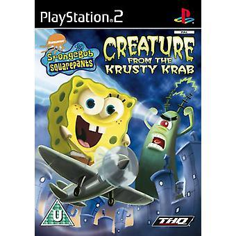SpongeBob SquarePants schepsel van de Krusty Krab (PS2)