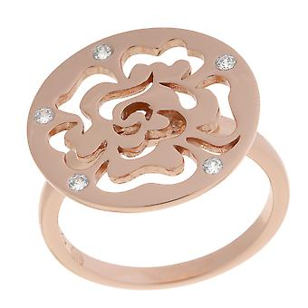 Orphelia Silver 925 Ring Rose Flower Circle  ZR-7079/1