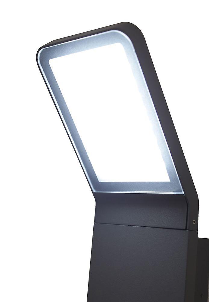 LED Wall lamp outdoor of Villads dark grey 6500 K 10644