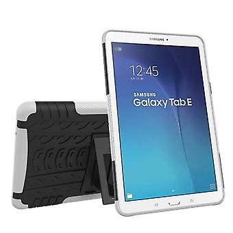 Caso de la cubierta protectora exterior híbrido blanco bolsa de Samsung Galaxy tab E 9.6 SM T560 T561