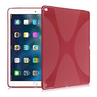Silicone housse de protection boîtier X-série rouge pour Samsung Galaxy tab S3 9,7 T820 T825