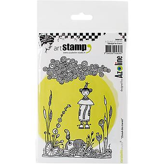 Carabelle Studio Cling Stamp A6-Zinouk Of The Swamps