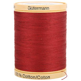 Natural Cotton Thread Solids 876yd-Raspberry