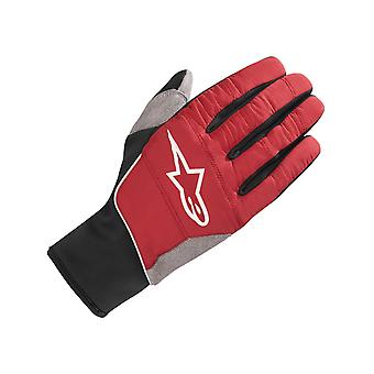 Alpinestars Rio Red Black 2018 Cascade Warm Tech MTB Gloves