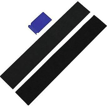フックとループ ライセンス プレート ホルダー (W × H) 49 cm × 8 cm IWH IWH Kennzeichenhalter 普遍的な