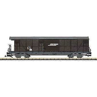 LGB L40083 G covered goods wagon of RhB