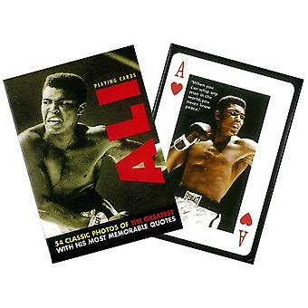 Mohammed Ali Set Of Playing Cards + Jokers