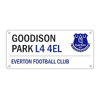 Everton FC Official Football Crest Street Sign