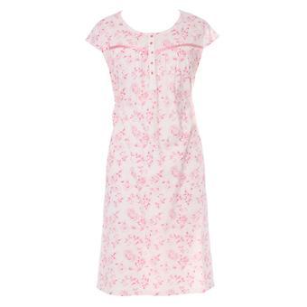 Ladies Walter Grange Classic Floral Print Short Sleeve Nightdress Sleepwear