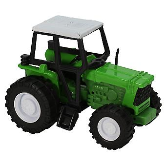Green Die-Cast Farm Tractor, 1:32 Scale