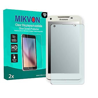 Lenovo IdeaPhone S880 Screen Protector - Mikvon Clear (Retail Package with accessories)
