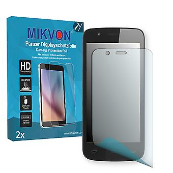 Prestigio MultiPhone 5504 Duo Screen Protector - Mikvon Armor Screen Protector (Retail Package with accessories)