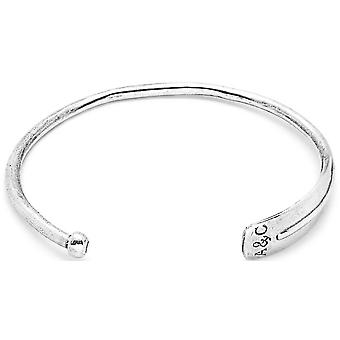 Anchor and Crew Paddle Silver Bangle - Silver