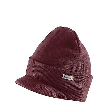 bf5b54711a49ff Carhartt Winter Hat with Visor - Port Mens Knit Beanie with Peak