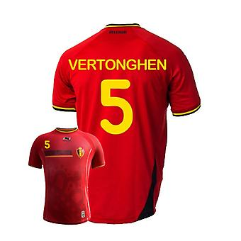 2014-15 Belgien World Cup Home Shirt (Vertonghen 5)