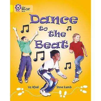 Dans til rytmen - bandet 03/gul av Uz Afzul - Steve Lumb - klippen Mo