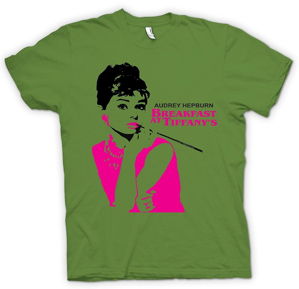 Mens T-shirt - Audrey Hepburn Tiffanys - Movie