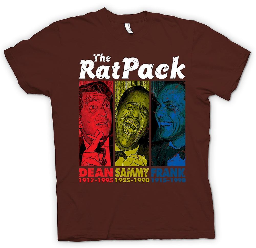 Mens t-skjorte - Rat Pack - Dean Martin - Sammy - Frank Sinatra