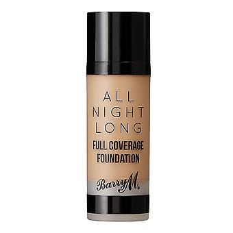 Barry M Barry M All Night Long Full Coverage Foundation - caramelo