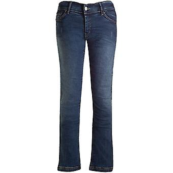 Bull-It Blue Vintage SR6 Straight - Extra Long Womens Motorcycle Jeans