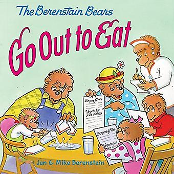 De Berenstain Bears Go Out te eten (Berenstain beren (8 x 8 Paperback))