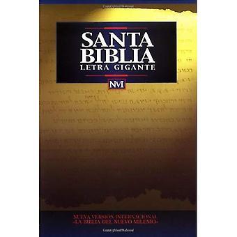 NVI Biblia Letra Gigante: Nueva Version Internacional, rustica (Large Print Bible)