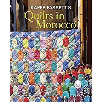 Courtepointes de Kaffe Fassett au Maroc: 20 dessins de Rowan pour le Patchwork et Quilting