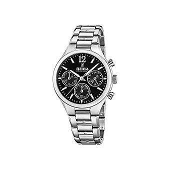 Festina Chronograph quartz ladies Watch with stainless steel band F20391/4