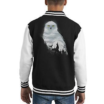 Spel van tronen Winter Is Coming Owl Kid's Varsity Jacket