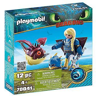 Playmobil 70041 Астрид с Hobgobbler