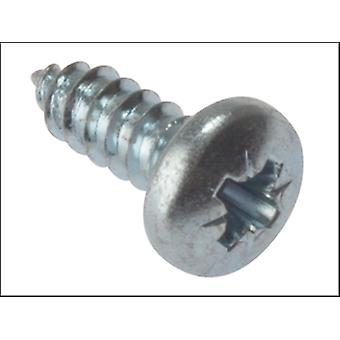 Forgefix Self Tapping Screw Pozi Pan Head Zp 3/4 X 10 Box 200