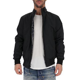 Woolrich Black Nylon Outerwear Jacket