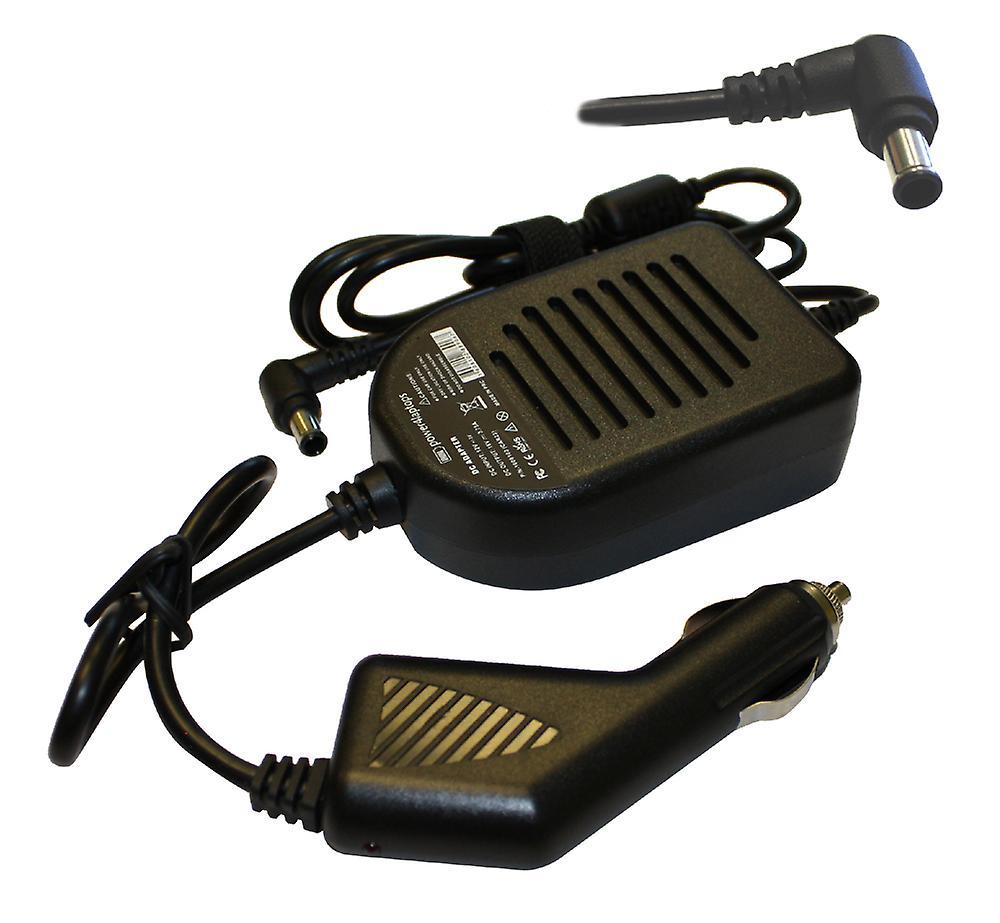 Sony Vaio PCG-F290 portable Compatible aliHommestation DC adaptateur chargeur de voiture