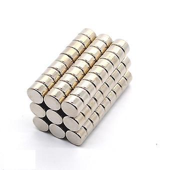 Neodymowy magnes 8 x 5 mm podkładka N35 - 500 sztuk
