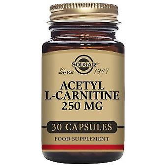 Solgar Acetyl L-Carnitine 250 mg 30 Vegetable Capsules (Diet , Supplements)